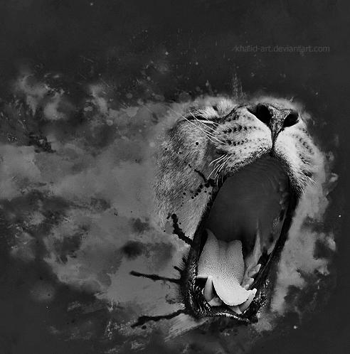 The Roar . .. by KHALID-ART