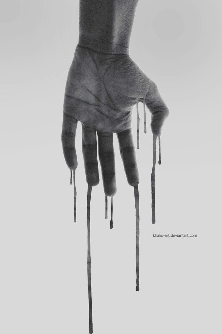 Hand . .. by KHALID-ART