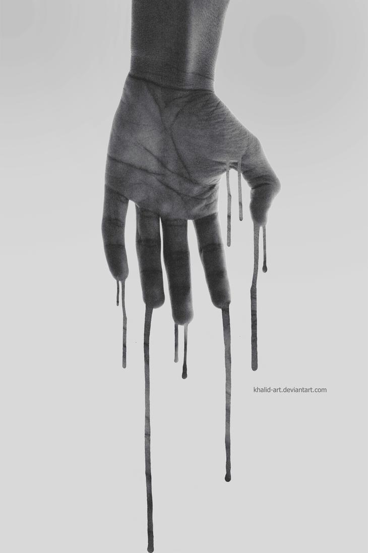 Hand . .. by KHALID-ART