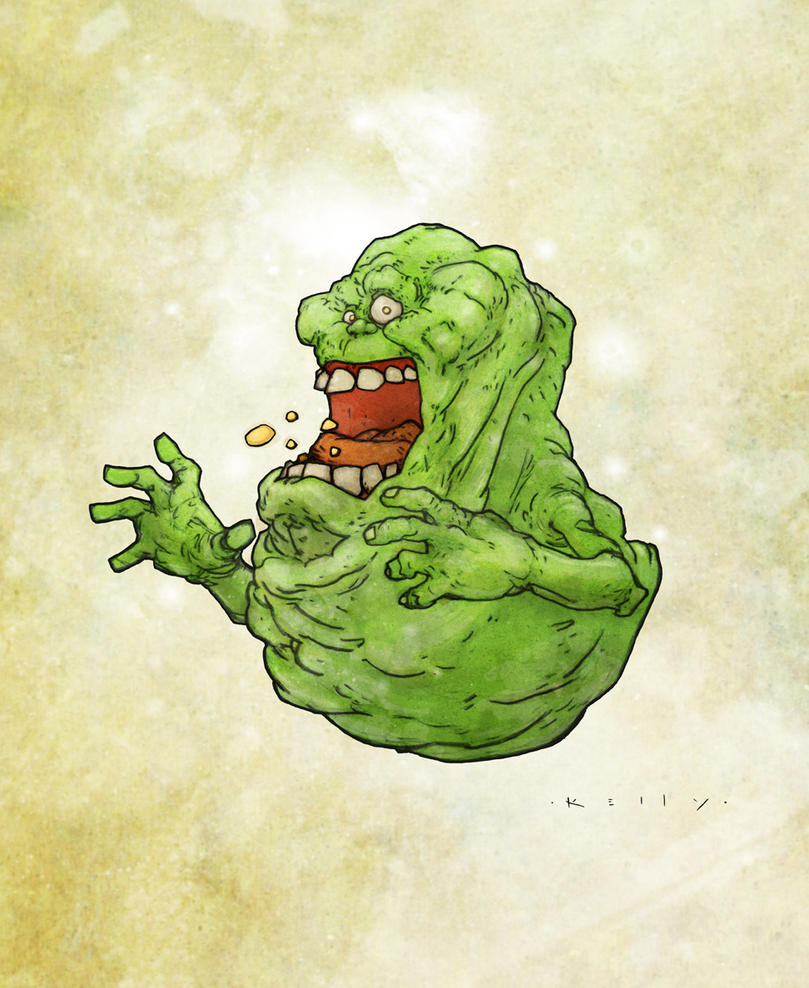 Slimer by TimKelly