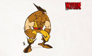 WOLVERINE animated