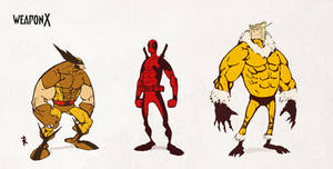 Weapon X animated