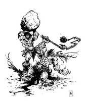 Conan VS Death Dealer by TimKelly