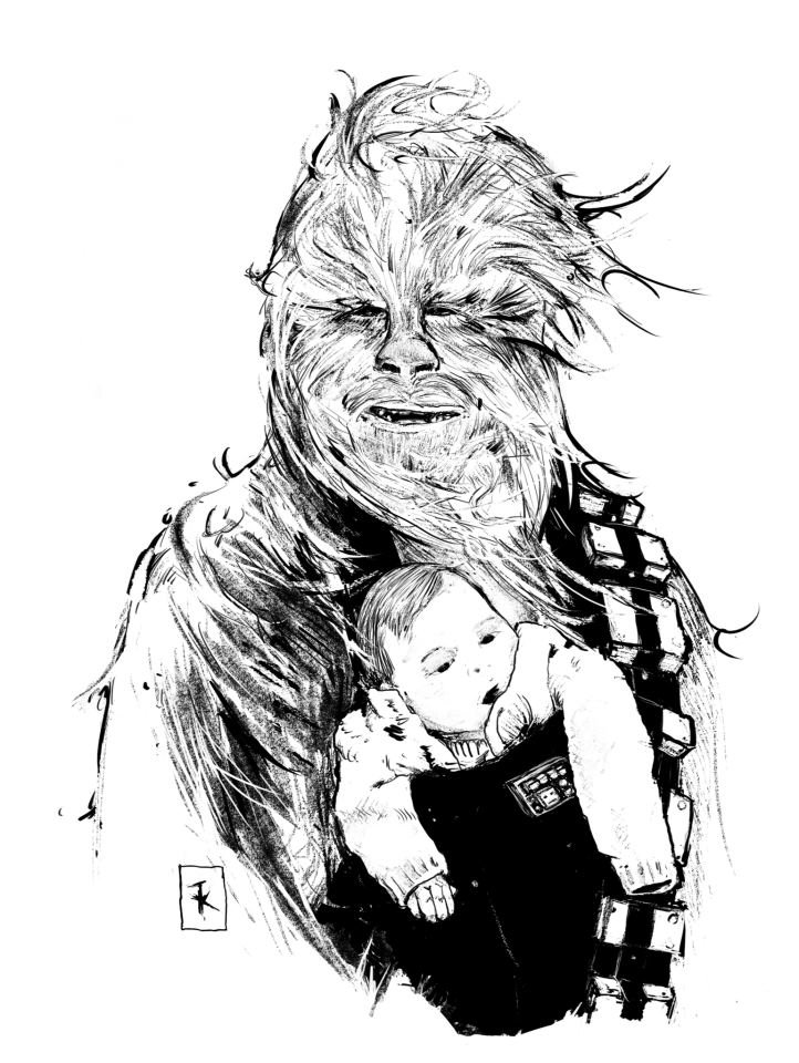 Chewbacca by TimKelly