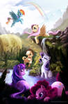 My Little Pony Friendship is Magic By AndreaTamme