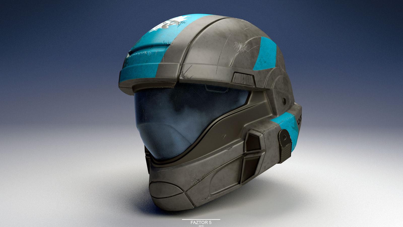ODST Helmet (Halo) by Faztor5 on DeviantArt
