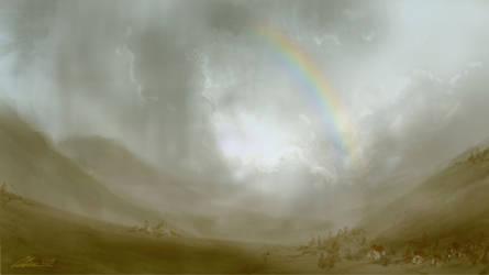 rainbow by hakubaikou