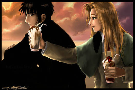 wolfwood and millie