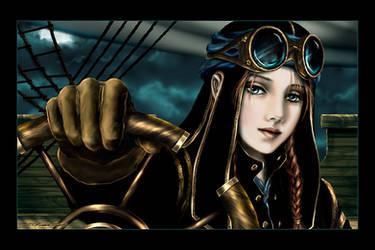 airship pilot by hakubaikou