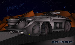 Aliens Transport vehicle -FINISHED