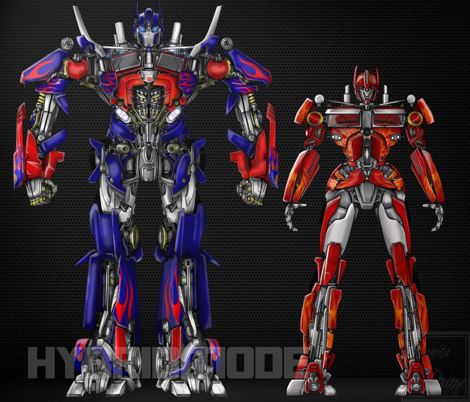optimus prime movie comparison essay