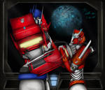 Optimus and Causeway - Cybertron Revived