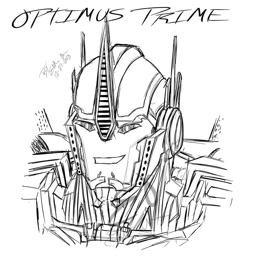 Optimus Prime Head Coloring Coloring Pages Optimus Prime Coloring Pages
