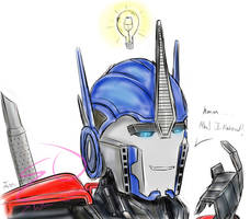 Light Bulb ( Prime Idea) by Elita-One-Arts