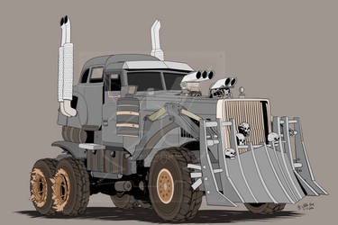 MAD MAX'S - WAR RIG (WIP)