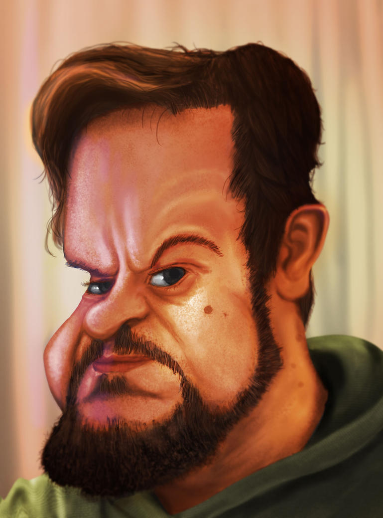 Caricature of Myself by gusvq