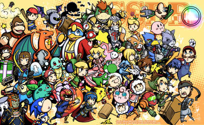 super smash brothers brawl by jurieduty