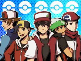 pokemon boys by jurieduty