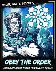 Cerulean Order Propaganda Poster