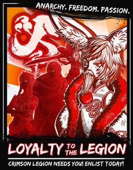 Crimson Legion Propaganda Poster