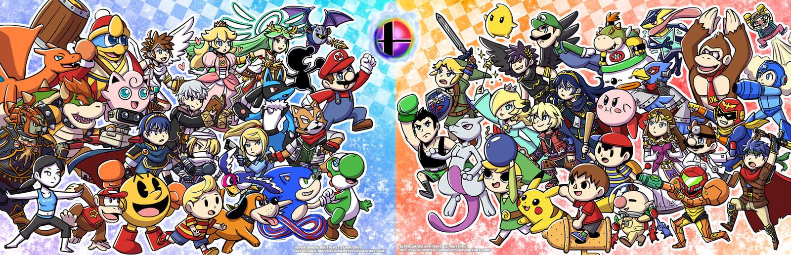 Smash Wii U by jurieduty