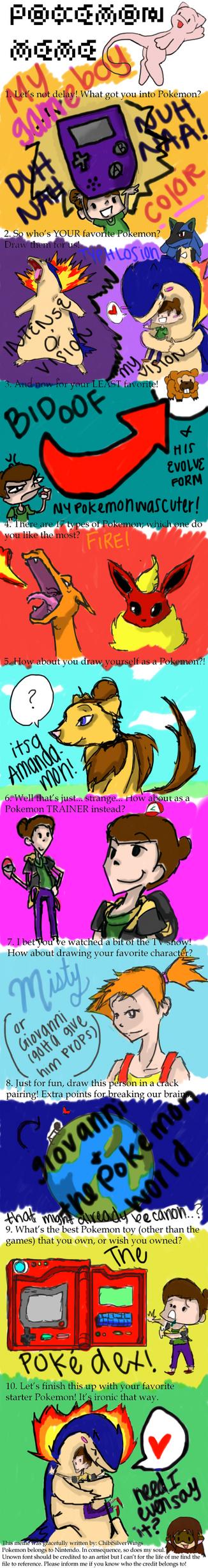 Pokemon Meme by LiveLongundProsper