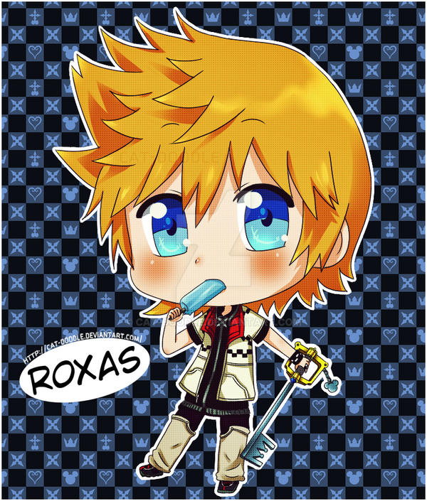Roxas by cat-doodle