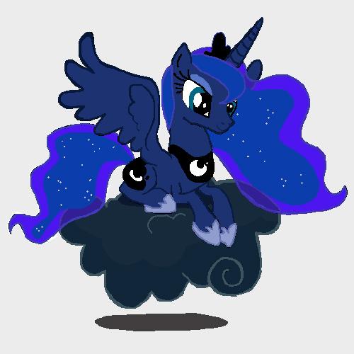Princess Luna by DoctorTimmeh