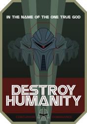 Destroy Humanity by nuke-vizard