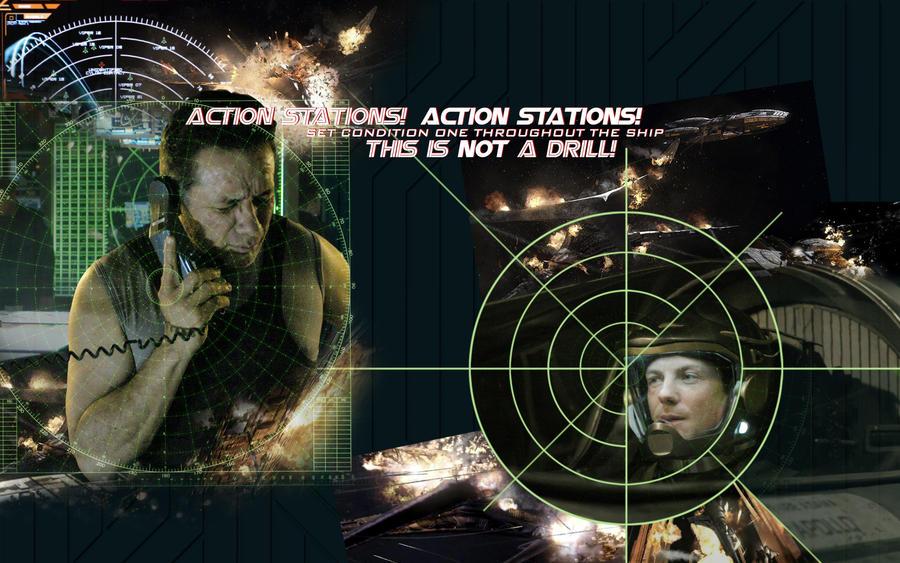 Battlestar Galactica Action by nuke-vizard