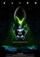 ALIEN poster by nuke-vizard