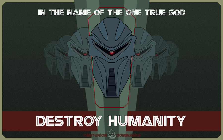 Destroy Humanity wallpaper by nuke-vizard