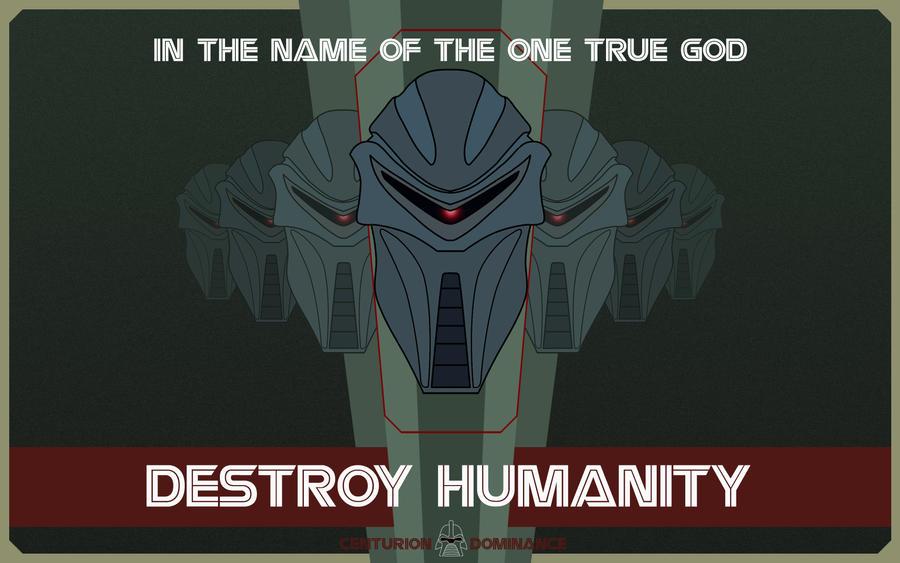 Destroy Humanity wallpaper by nuke-vizard