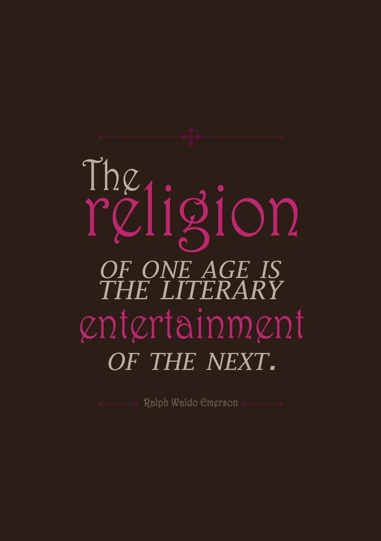 religion is entertainment by nuke-vizard