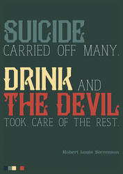 Suicide, drink and the devil