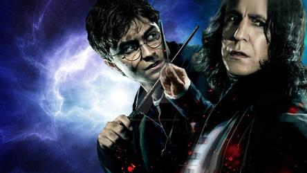 Harry and Severus by DorianSnape