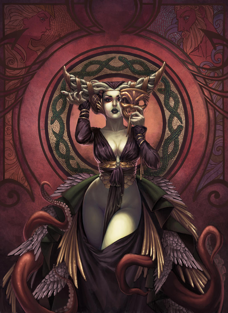 medusa athena Medusa is a monster who can petrify people to stone if they look her directly in her eyes she is a daughter of phorkys and keto and was once a priestess of athenaafter medusa and poseidon desecrated athena's virgin temple, athena cursed medusa and her sisters.