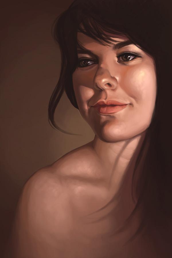 Self Portrait 2008 by JessiBeans