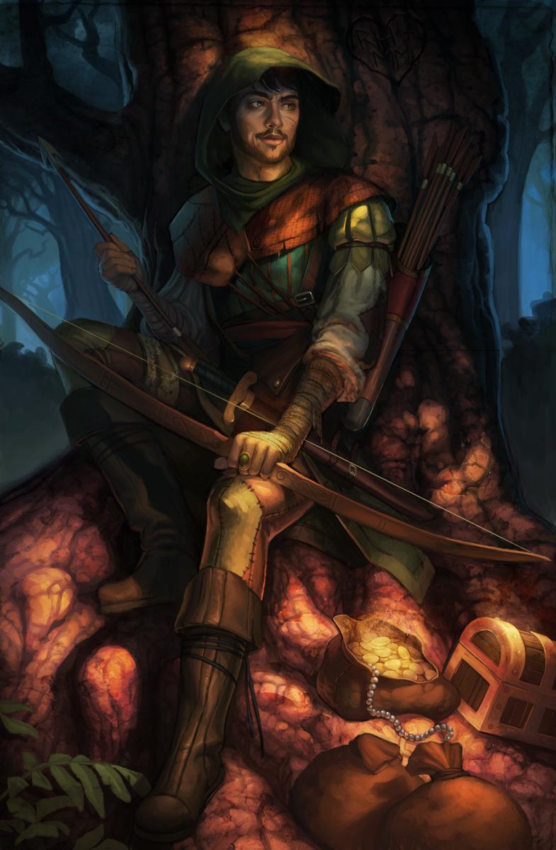 Robin Hood by JessiBeans