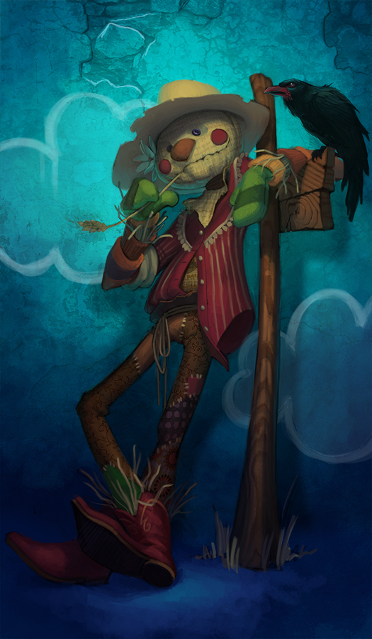 The Scarecrow by JessiBeans