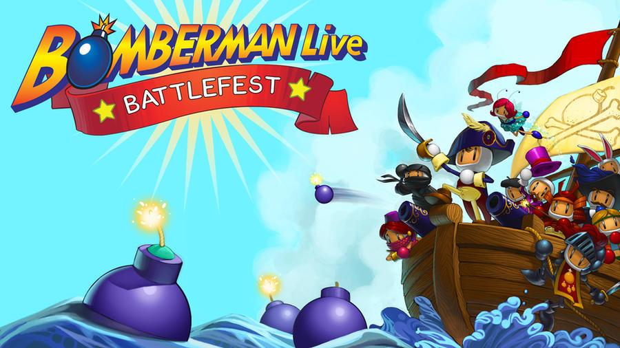 Bomberman Battlefest by JessiBeans