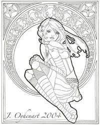 Nouveau Goth No. 1 by JessiBeans