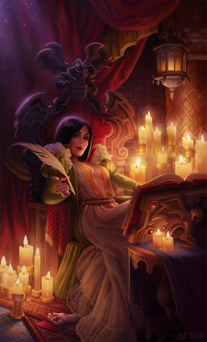 Elizabeth Bathory by JessiBeans