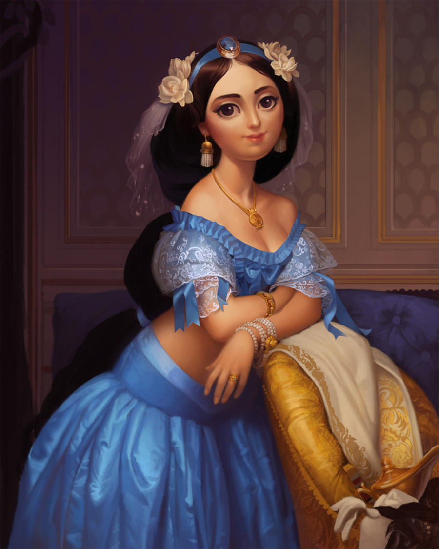 Princess Jasmine by JessiBeans