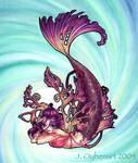 Strange Mermaids: Purple