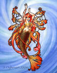 Strange Mermaids: Orange