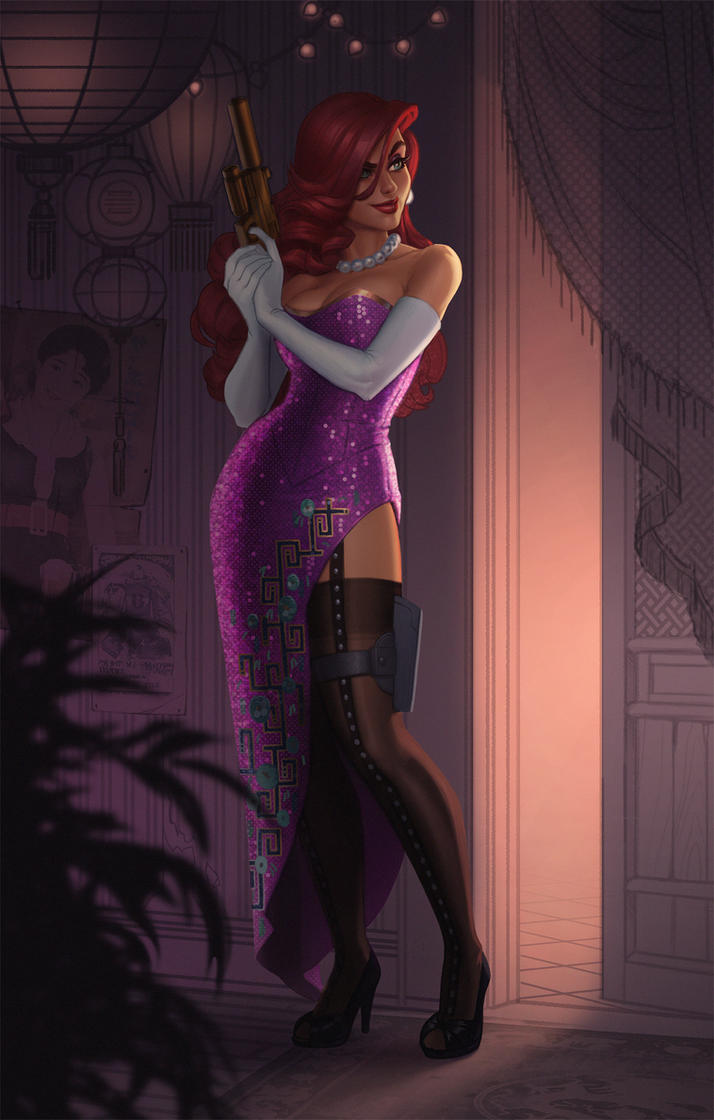 SecretAgent Miss Fortune by JessiBeans