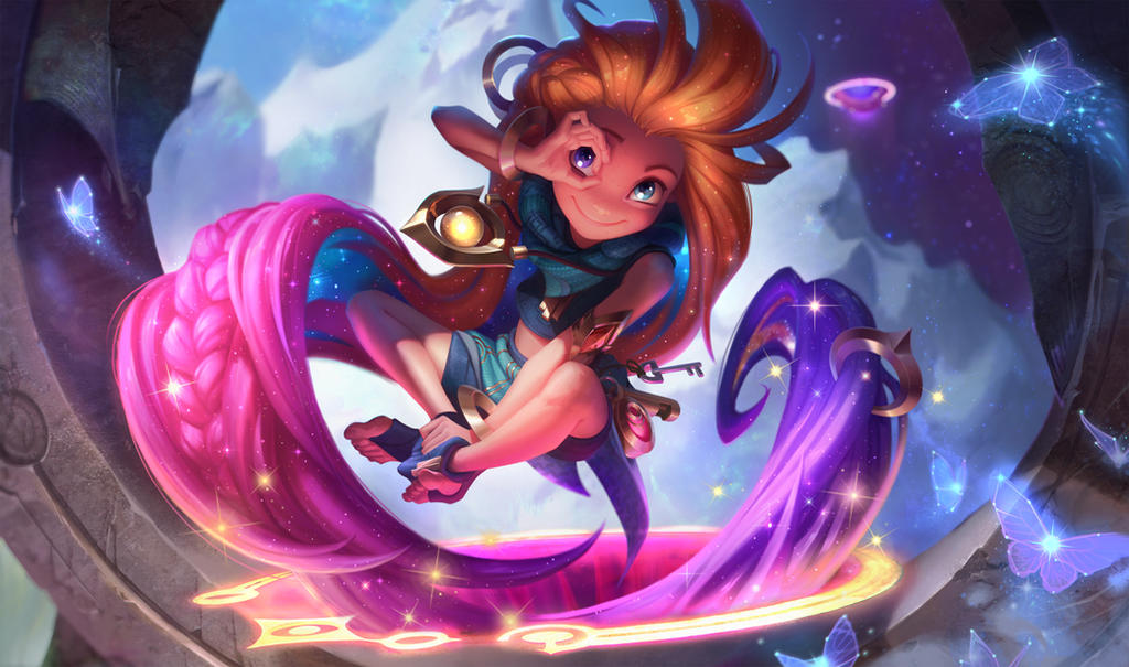 Zoe, the Aspect of Twilight by JessiBeans