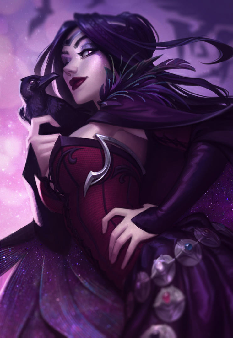 Morrigan Le Fay by JessiBeans