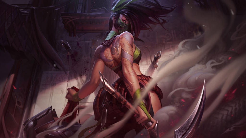 Akali by JessiBeans